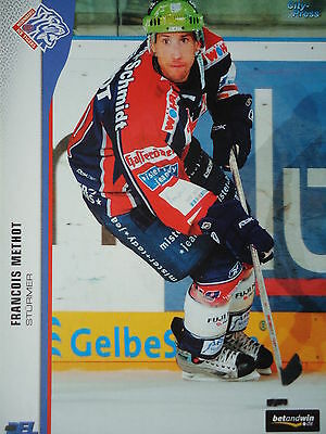 273 Francois Methot Norimberga Ice Tigers Del 2005-06- Moderno Ed Elegante Nella Moda