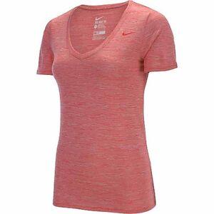 b2a5ff23 NWT Nike Women's Dri-Fit V-Neck Legend Veneer Short Sleeve Tee Shirt ...
