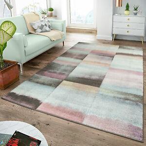 Moderner teppich wohnzimmer teppiche karos pastell t rkis for Amazon tapis de salon