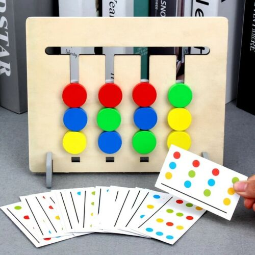 4 Color Puzzle Game For Children Kids Educational Intelligence Game Toy