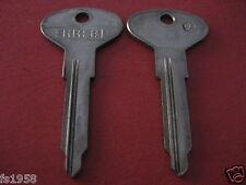 Volkswagen Oldtimer - Schlüsselrohling Errebi Profil HF24 (Huf Schließung)