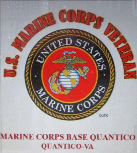 MARINE CORPS BASE QUANTICO*QUANTICO-VA* U.S.MARINE CORPS *MARINE EMBLEM*SHIRT