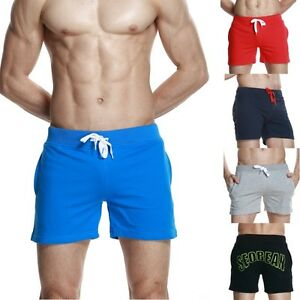 SEOBEAN-Men-039-s-Running-Cotton-shorts-casual-summer-beach-Small-shorts