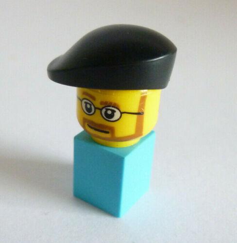 1 x LEGO®90386 Mütze für Minifiguren Franzose,Baskenmütze Mann,Junge schwarz neu