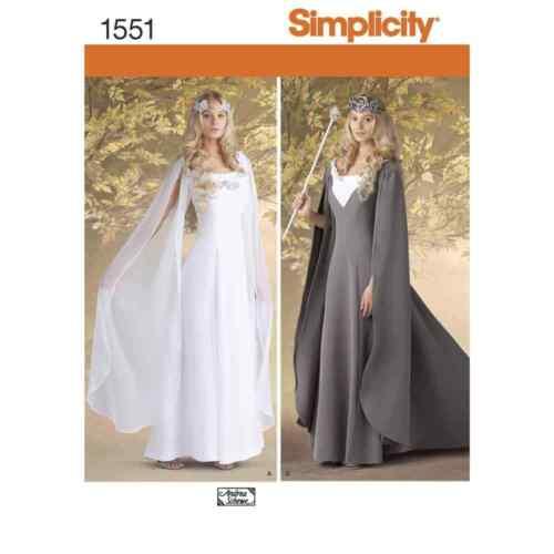 Simplicity Sewing Pattern 1551 pierde Costumes