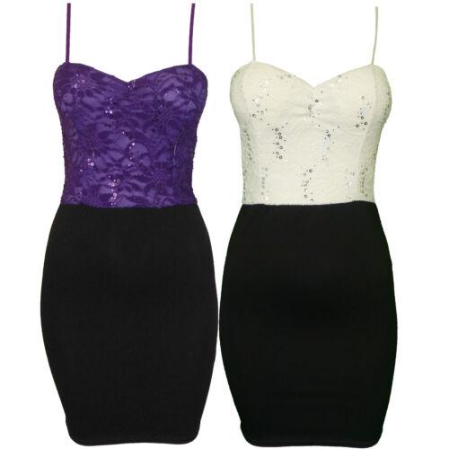 WOMENS SLEVELESS SHORT MINI PENCIL STRAP LADIES BDYCON DRESS SIZES 8-14