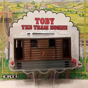 Shining-Time-Station-Metal-Toby-the-Tram-Engine-ERTL-Thomas-the-Tank-New