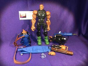 Hasbro Gi Joe Sigma Six Figurine Prototype Premier Plan Résistant