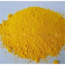 Powder iron oxide (Fe2O3) 400 grams Used in /ceramic / pigments - Yellow metalic