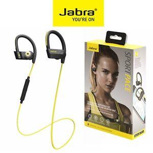 Bluetooth-Headphone-4-0-JABRA-Sport-Pace-Wireless-Stereo-Headset-iPhone-Yellow