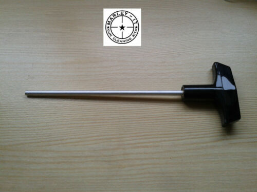 Revolver Cleaning Rod With Rotating Handle Pistol