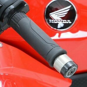 Honda CBR900 Fireblade 1993-1994 R/&G Racing Renthal Bar End Weights Sliders