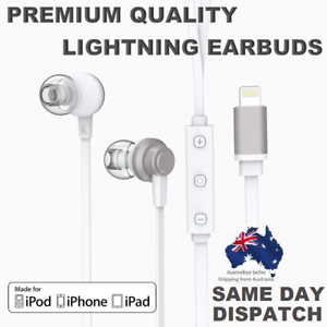 bc267567945 Image is loading PEARL-X7-Earphones-Earpods-Lightning-Earbuds-For-iPhone-