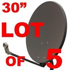 """LOT 30"""" SATELLITE TV DISH ANTENNA 33 36 FTA FREE TO AIR"""
