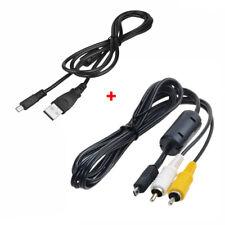 yan USB Data Sync Cable Cord Lead for FujiFilm FinePix S6000 fd A805 Z S8650 Camera