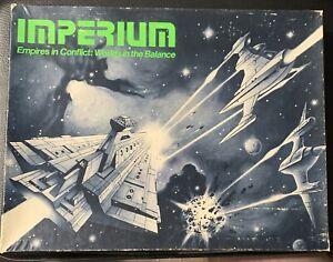 Conflict Wargame  Imperium (1st Ed) Complete Original Owner G.D.W. FREE US Ship