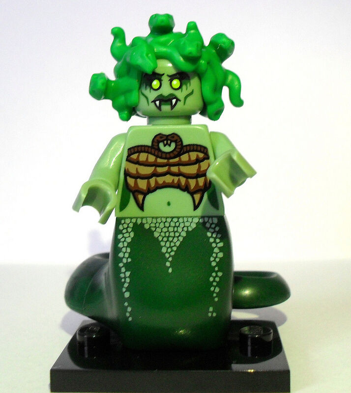 Sealed Series 10 Lego Medusa Medusa Medusa Snake Hair Gorgon Greek Mythology Minifigure 59a2cd