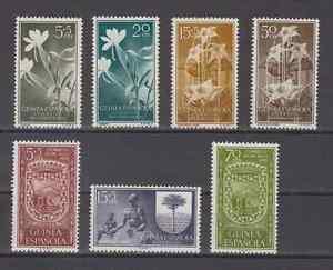 GUINEA-ESPANA-ANO-1956-NUEVO-COMPLETO-MNH-SPAIN-EDIFIL-358-64
