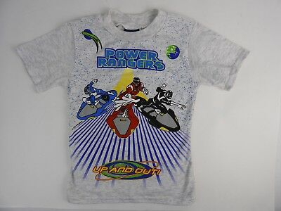 Power Rangers Mighty Morphin Retro Youth Kids T Shirt