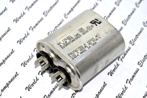 CDE 4uF 370Vac Motor-Run Power Supply Capacitor 1pcs KKSM37U405M23 4µF