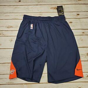 NIKE-Men-OKC-Thunder-NBA-Basketball-Shorts-874588-419-Sz-XL-Tall-New