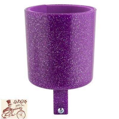 CRUISER CANDY Bike Bicycle Drink Holder Bar Mount Lemon Drop Sparkles NEW