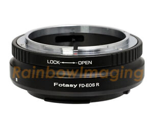Canon-FD-Lens-to-Canon-EOS-RF-Mount-R-RP-Mirrorless-Camera-Adapter-034-US-Seller-034