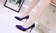 Women-039-s-office-shoes-Ladies-High-Stiletto-Heels-Leather-Pointed-Toe-Party-Shoes thumbnail 7