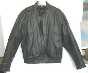 bd9708c848c RAIDER 3M THIN SU LATE Black LEATHER REMOVABLE LINING FULLY VENTED BIKE  JACKET