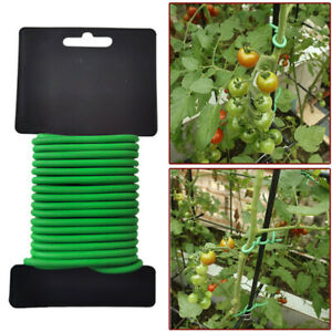 Garden-Plant-Twist-Ties-Support-Reusable-Weatherproof-Wire-Flexible-Tie-8-10m