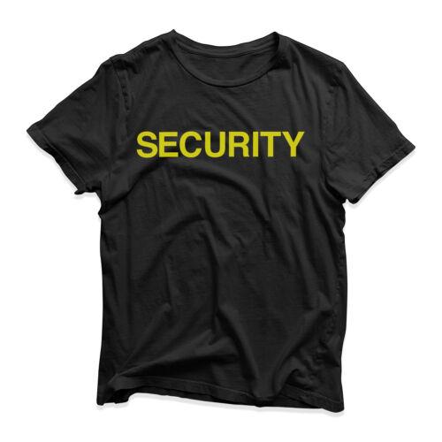 Security T-Shirt Funny Novelty Crew Staff Pub Festival Parade Bar Nightclub Top