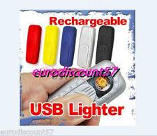 Briquet USB Electronique Rechargeable  Cable USB  fourni
