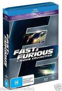 fast and furious complete collection 1 7 new blu ray. Black Bedroom Furniture Sets. Home Design Ideas