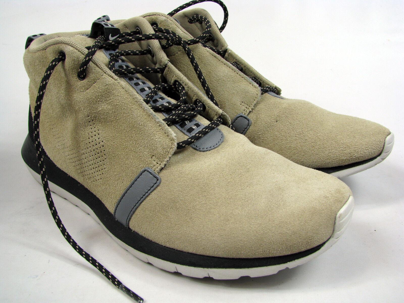 Nike Mens Roshe Rosherun NM Sneakerboot Shoes 684723 200 Sz 10.5 Bamboo Black