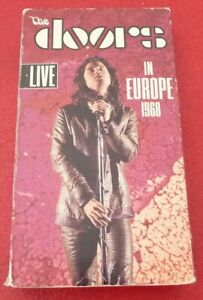 VHS-Movie-The-Doors-Live-in-Europe-1968