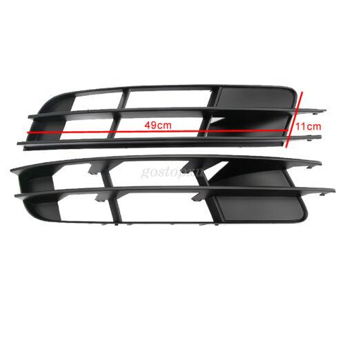 Par de coche parrilla de la ingesta de Baja Parachoques Delantero Rejilla de señal de vuelta para Audi Q7 2007-2009