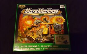 Brand New MicroMachines 2000 Hasbro Battle Vision Jungle Play Set