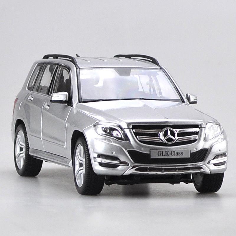 Mercedes-Benz GLK300 Modelo Coches 1 18 18 18 Juguete Colección y regalos Diecast Aleación De Plata b72979