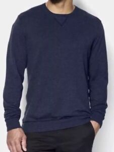 moderate cost exceptional range of styles and colors sale Under Armour Performance Crew Sweater Academy Blue 1256300 ...