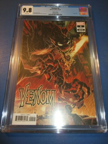 Details about  /Venom #2 3rd print Stegman Variant CGC 9.8 NM//M Gorgeous Gem