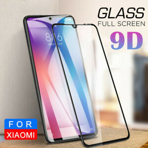 finest selection f4495 17ea6 Details about For Xiaomi Redmi Mi 8 9 SE Play A2 9D Full Cover Tempered  Glass Screen Protector