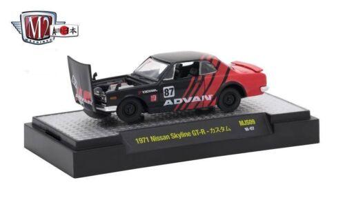 1971 Nissan Skyline GT-R  Advan Racing ** M2 Machines Japan 1//3200 MiJo 1:64 OVP