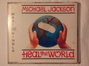 MICHAEL-JACKSON-Heal-the-world-cd-singolo-4-TRACKS-COME-NUOVO-LIKE-NEW