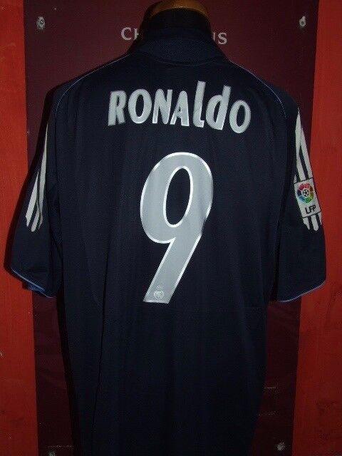 RONALDO REAL MADRID 2005 06 MAGLIA SHIRT CALCIO FOODALL MAILLOT JERSEY SOCCER