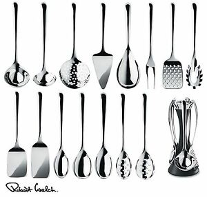 Robert welch signature kitchen utensils set spoon turner or server image is loading robert welch signature kitchen utensils set spoon turner teraionfo