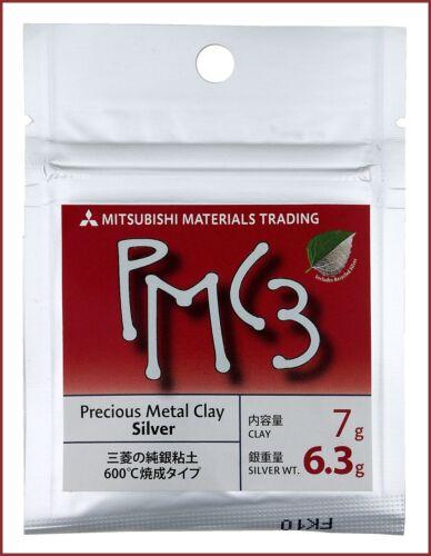 Preciouis Metal Clay SILVER 7g PMC3 6,3g Feinsilber 342,71€//100g