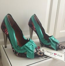 Lanvin for H&M Pumps High Heels Flower US 6 Gr. 37 *NEU*