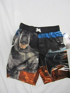 de656c356761e NWT DC COMICS BATMAN V SUPERMAN $24 Swimsuit Swim Shorts Trunks ...