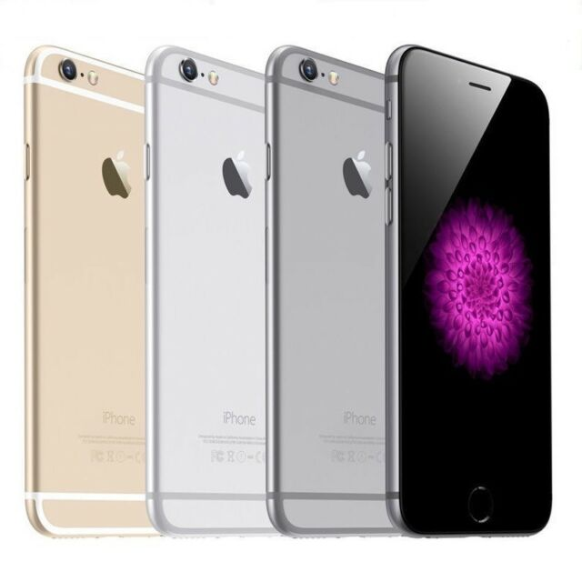 Apple iPhone 6 64 GB - iPhone 6 16GB, Space,Gold, Silber, iPhone 6-64GB - 6-16GB