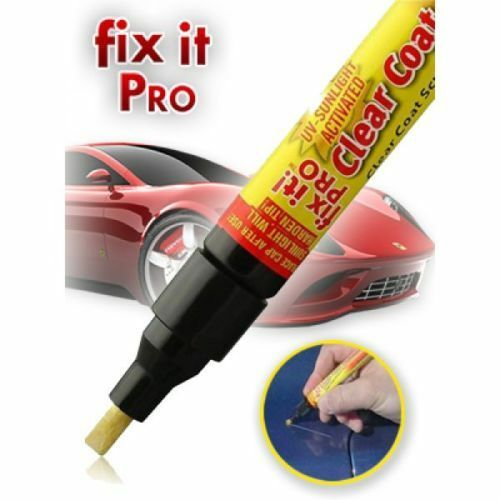 Fix It Pro Clear Car Scratch Repair Pen Simoniz Clear Coat Applicator